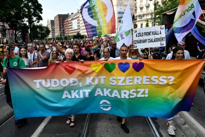 V Maďarsku sa konal pochod Pride, tisíce ľudí vyjadrili nespokojnosť s vládnou politikou proti LGBT komunite