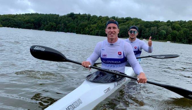 Kanoisti Baláž s Myšákom vybojovali pre Slovensko bronz na majstrovstvách sveta, z víťazstva sa tešili Španieli