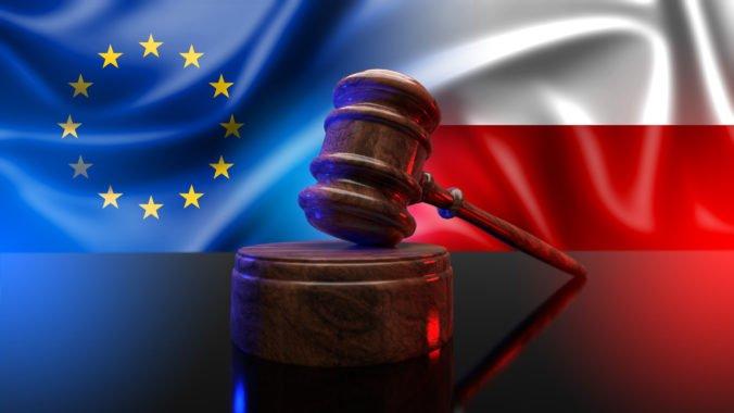 Súdny dvor EÚ nariadil Poľsku, aby platilo milión eur za každý deň sporu o nezávislosti súdnictva